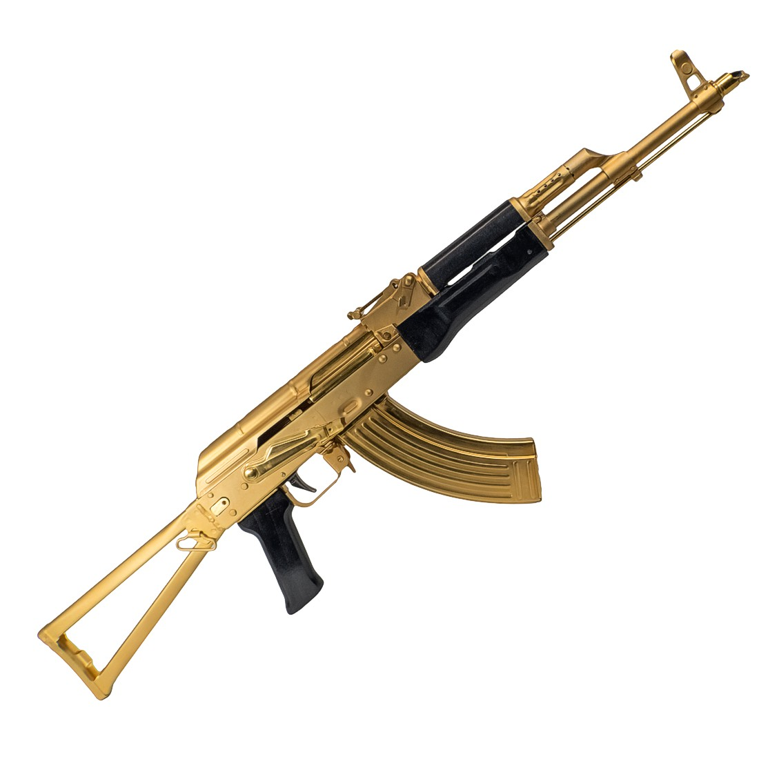 tss ak 47 akm 7 62 215 39 24 karat gold plated shooter s supply