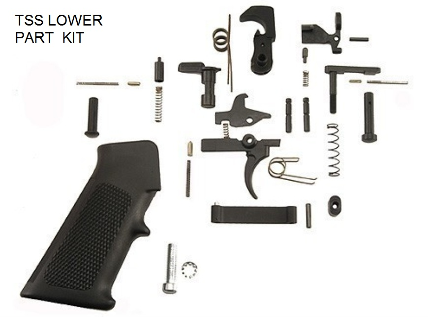 Tss Custom Ar 15 Lower Parts Builder Kit Texas Shooter S Supply