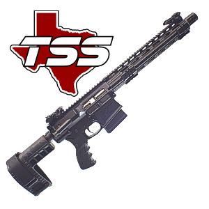 TSS Custom AR-10 Pistols