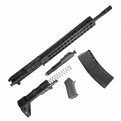 TROY Complete AR-15 Upper receiver  223/5 56 Barrel stock grip BCG Set