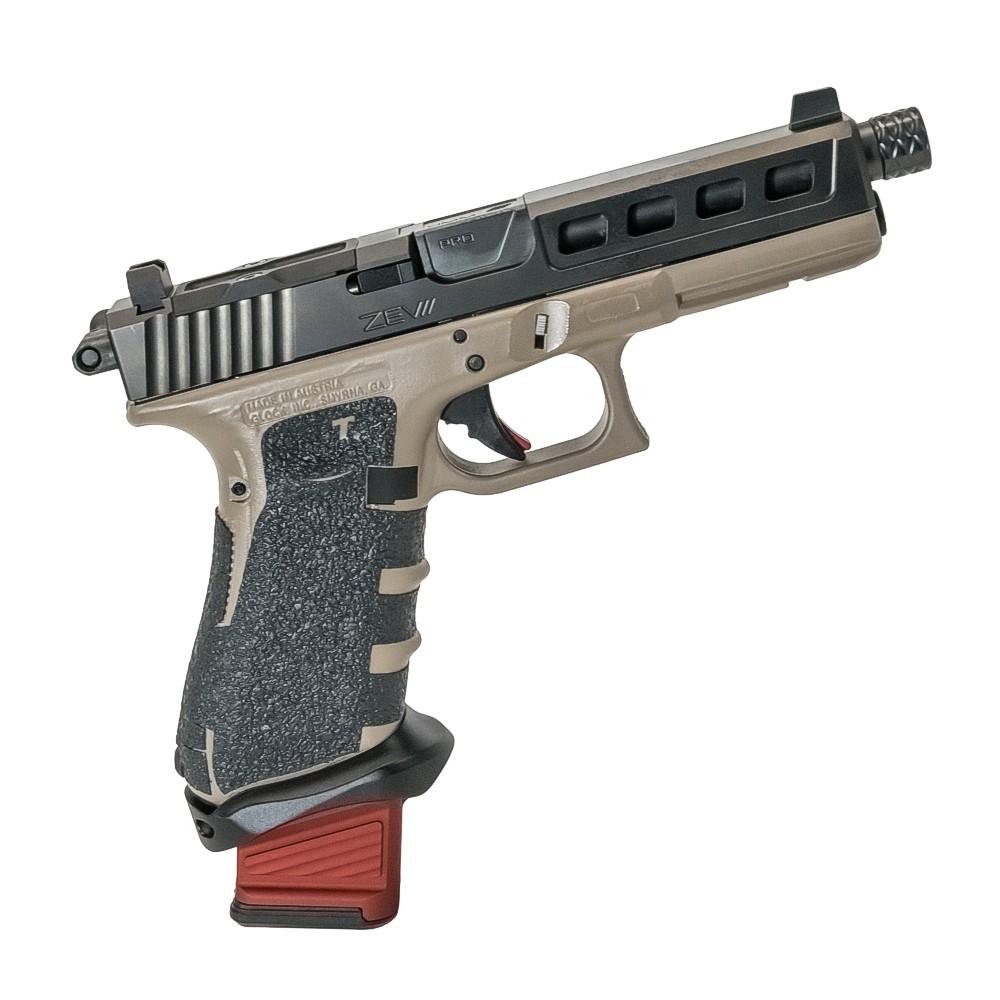 TSS TSS Custom GLOCK 17 9mm GEN4 ZEV Mach FDE