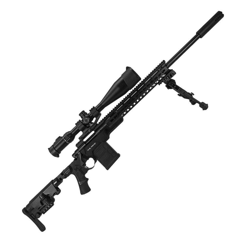 TSS Custom Remington 700 5-R  308 Win A*B Arms stock Black