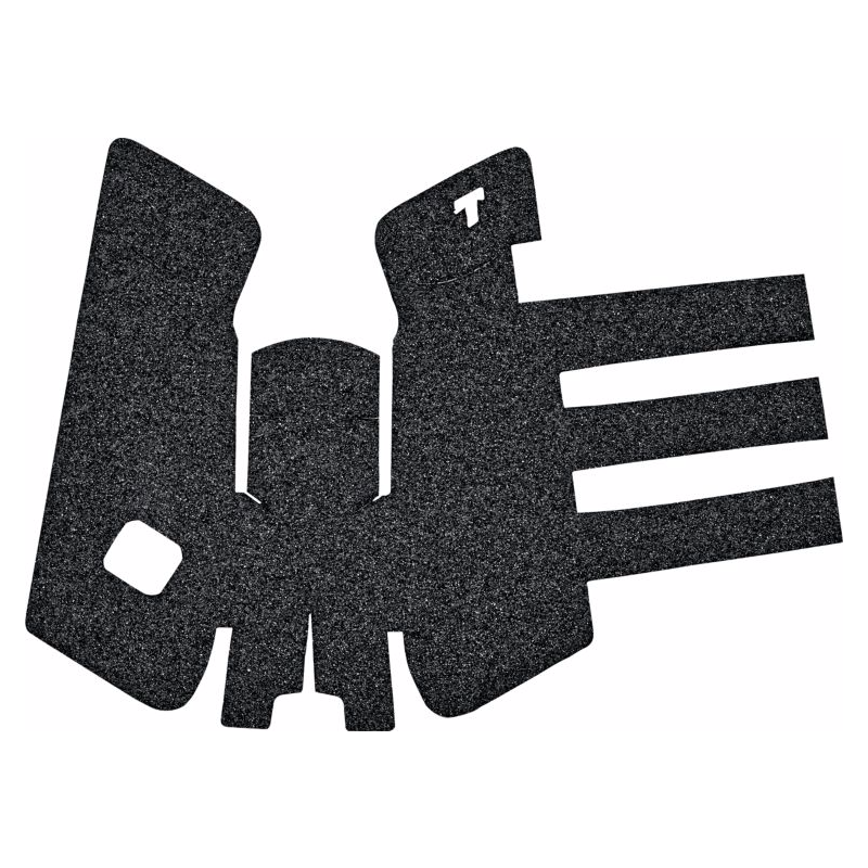 TALON Grips for GLOCK Gen1-3 Rubber Adhesive Grip Black
