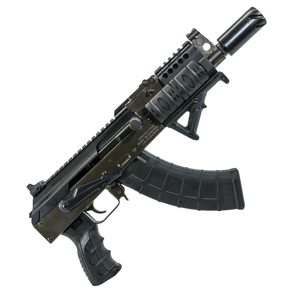 tss tss custom ak 47 mini draco pistol converted. Black Bedroom Furniture Sets. Home Design Ideas