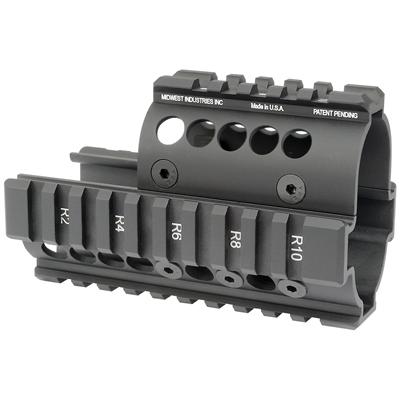 MIDWEST INDUSTRIES Mini Draco AK Handguard - Black